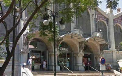 Mercado Central de Valencia, fachada delantera | Mercadosdevalencia.com