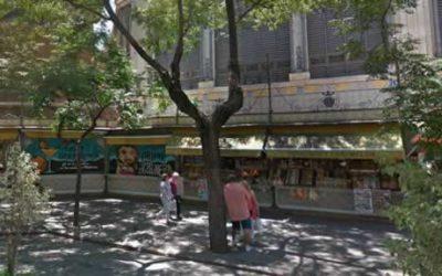 Mercado Central de Valencia | trasera grafittis | Mercadosdevalencia.com