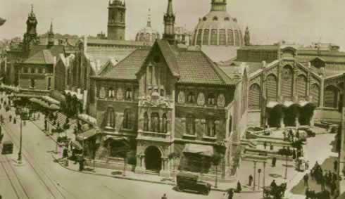 Mercado de Valencia 1936